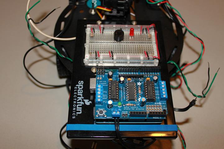 Arduino robot for Adafruit motor shield arduino