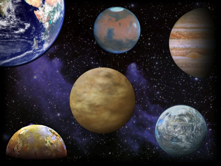 Artist's Concept of a Planetary System