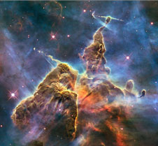 from the Hubble space telescope