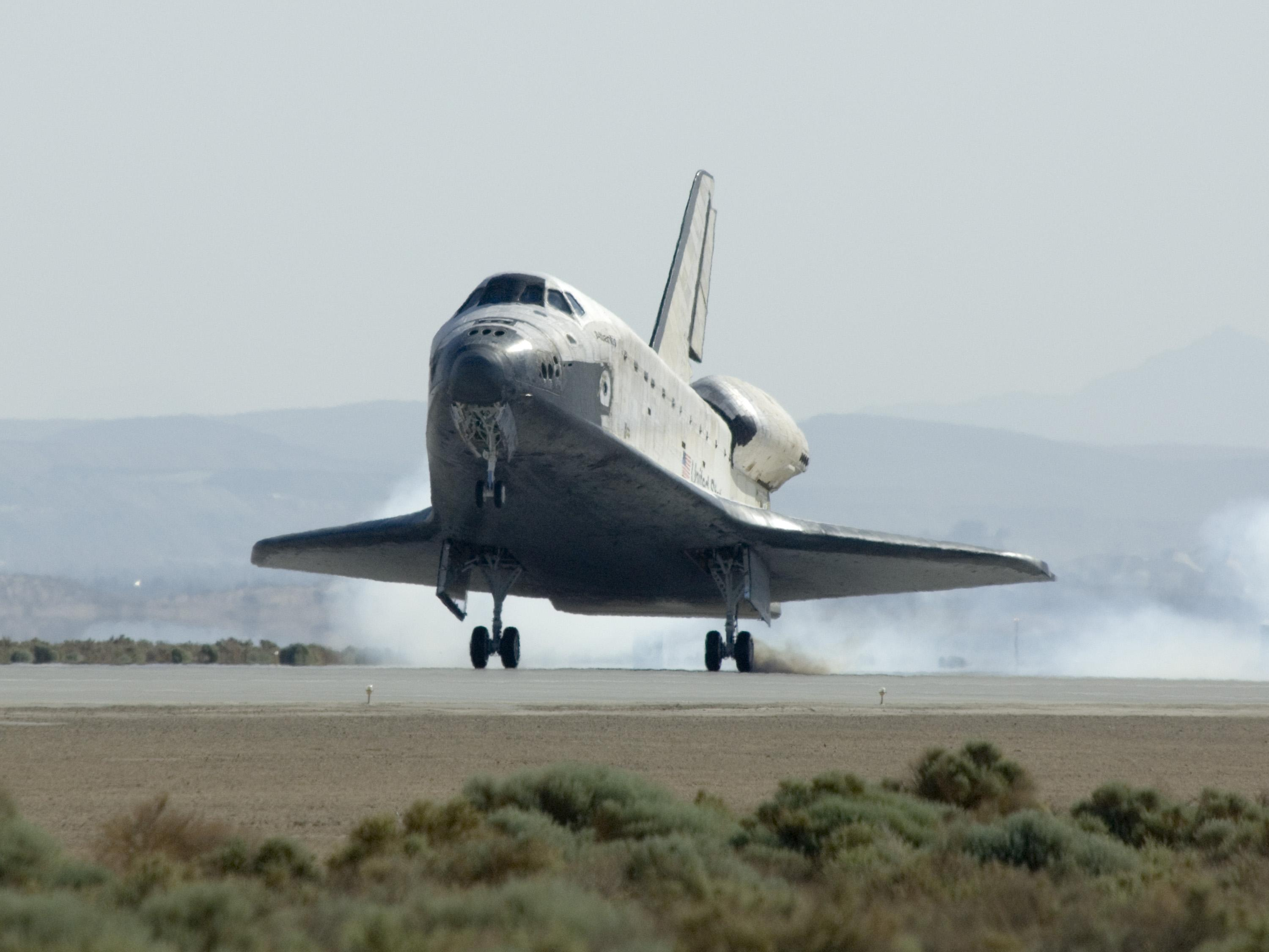 space shuttle landing explained - photo #42
