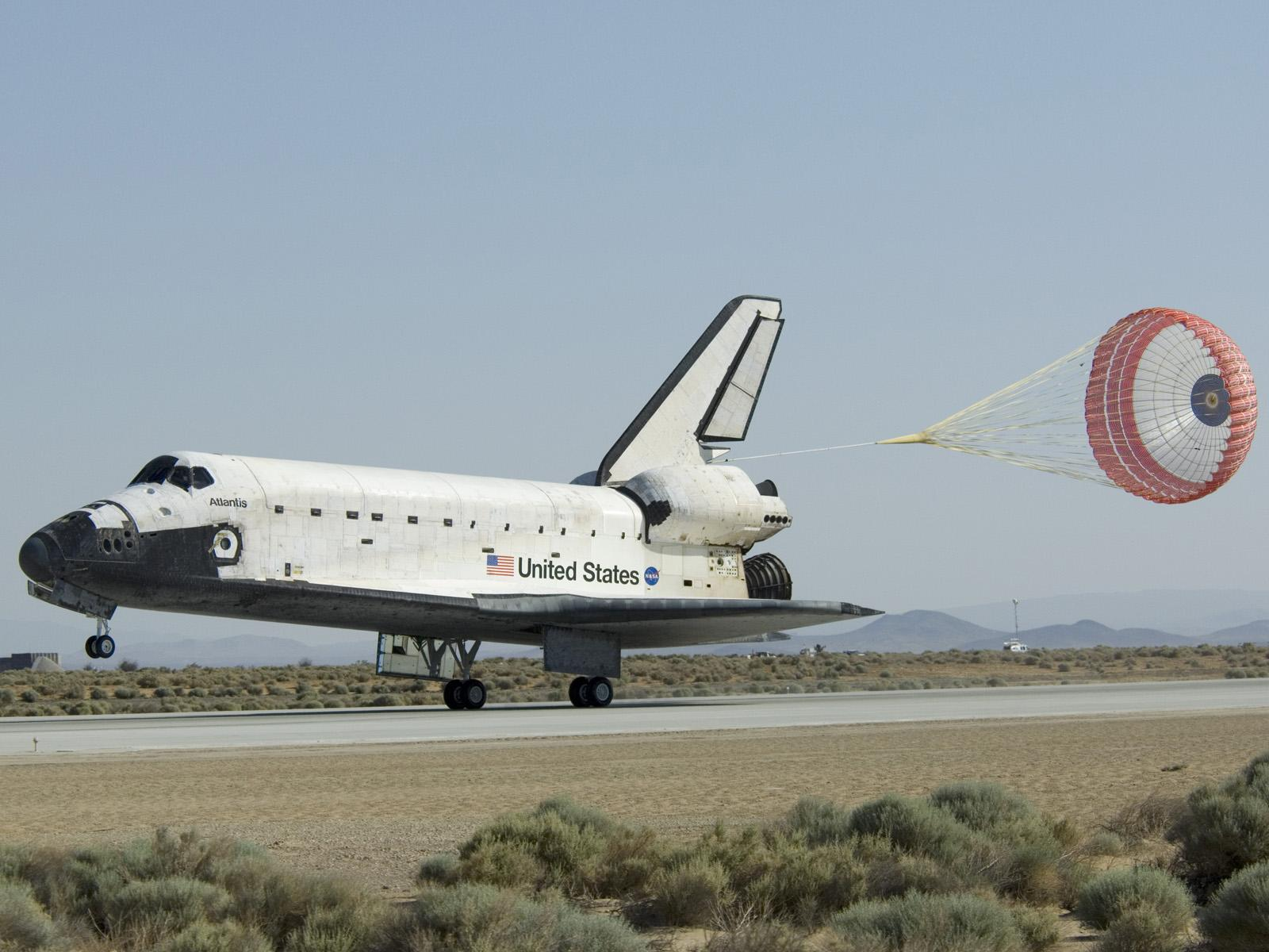 space shuttle landing at edwards air force base - photo #28
