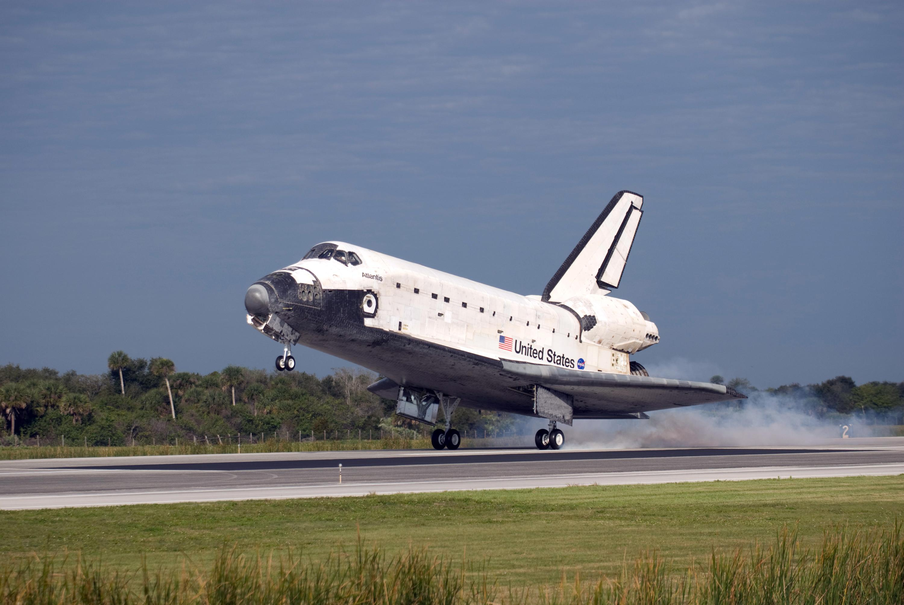 space shuttle landing from inside - photo #16