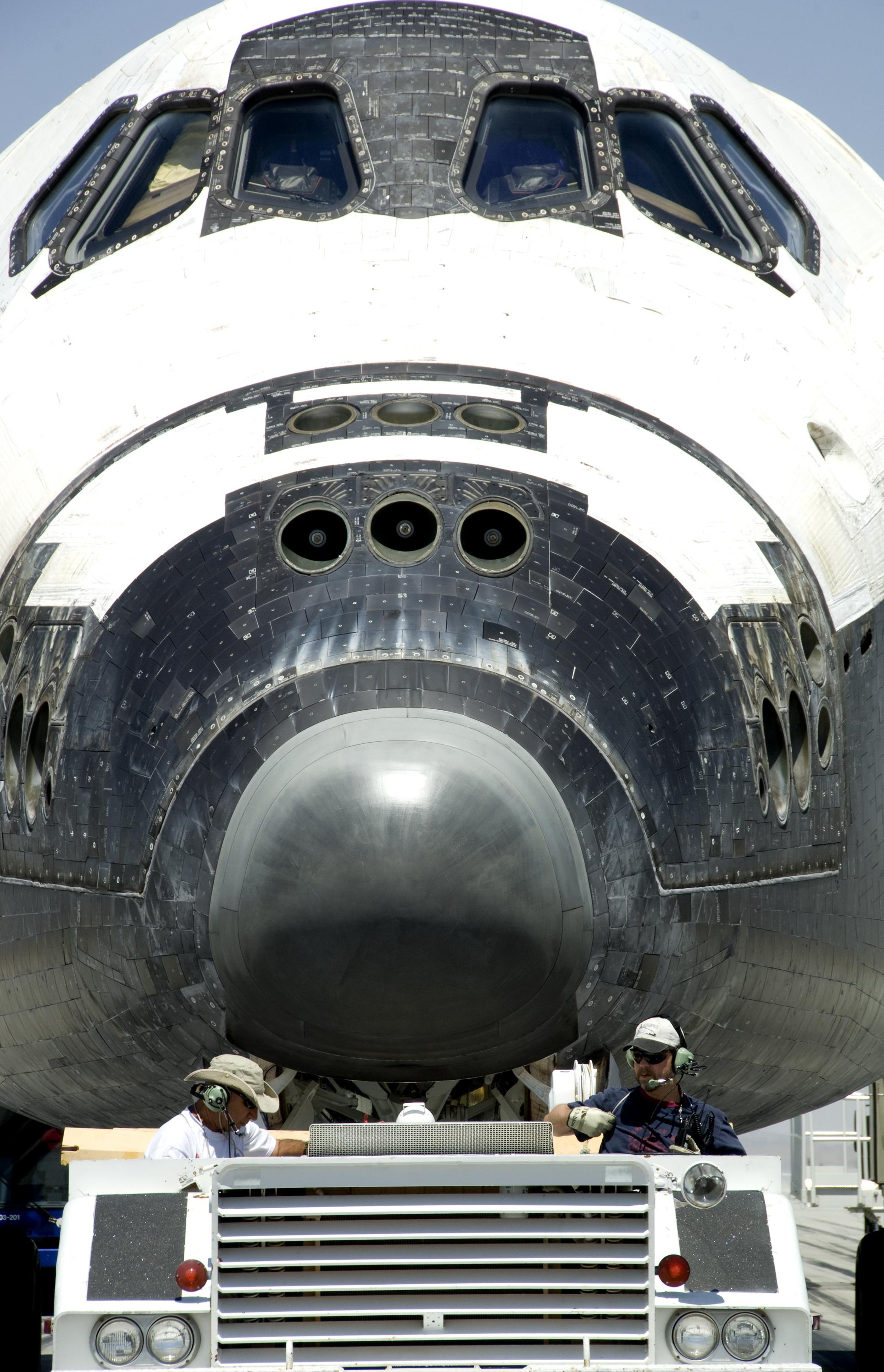 space shuttle nose - photo #17