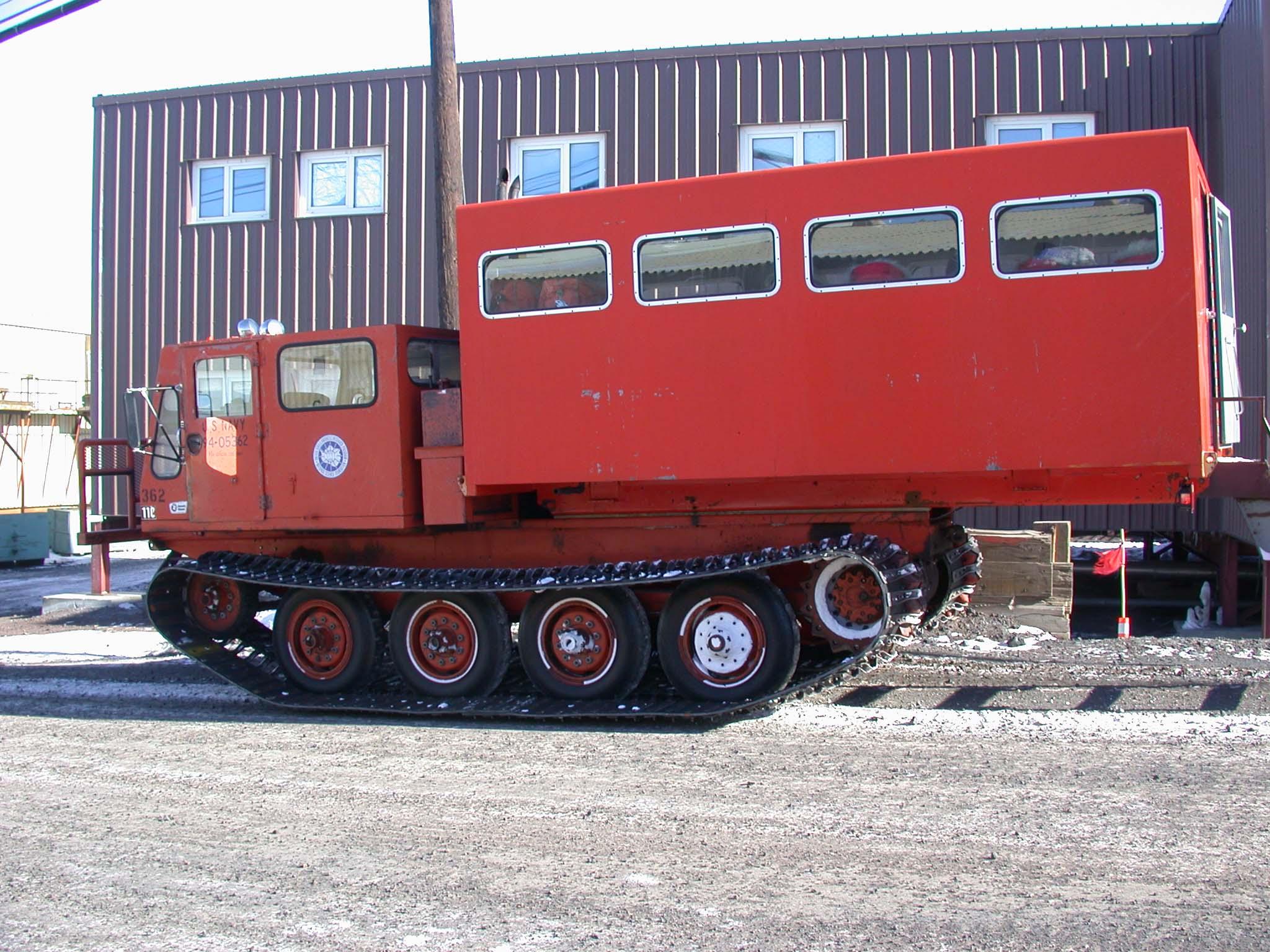 TIGER in Antarctica, Vehicles