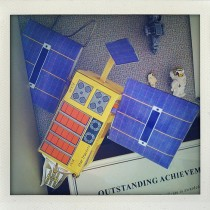 Build your own satellite (paper model)!