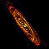 Andromeda in the Infrared