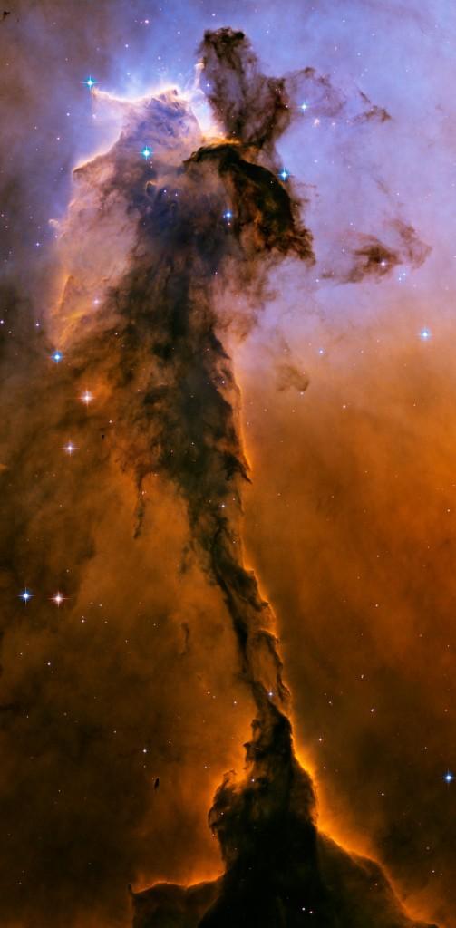 Stellar Spire in Eagle Nebula