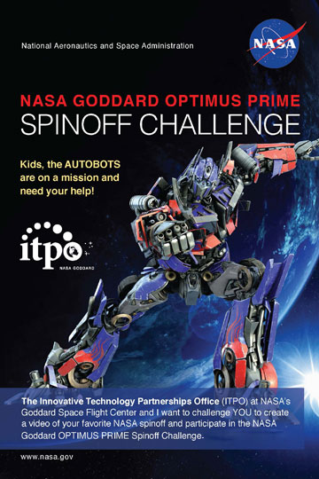 Optimus Prime Spinoff Challenge