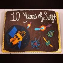 Swift birthday cake