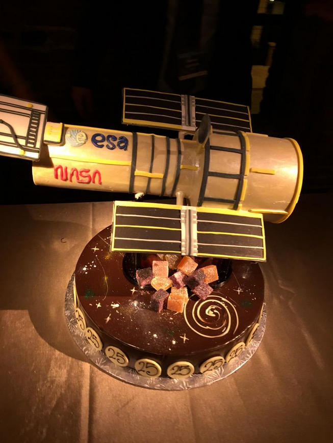 Hubble Space Telescope Cake