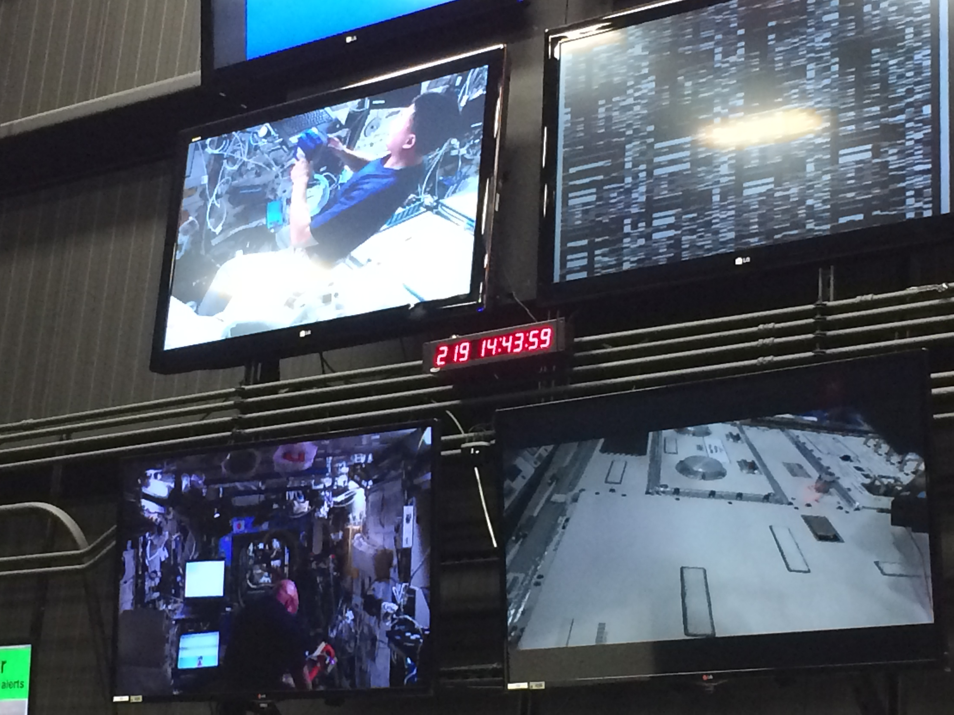 Live feed from the ISS!