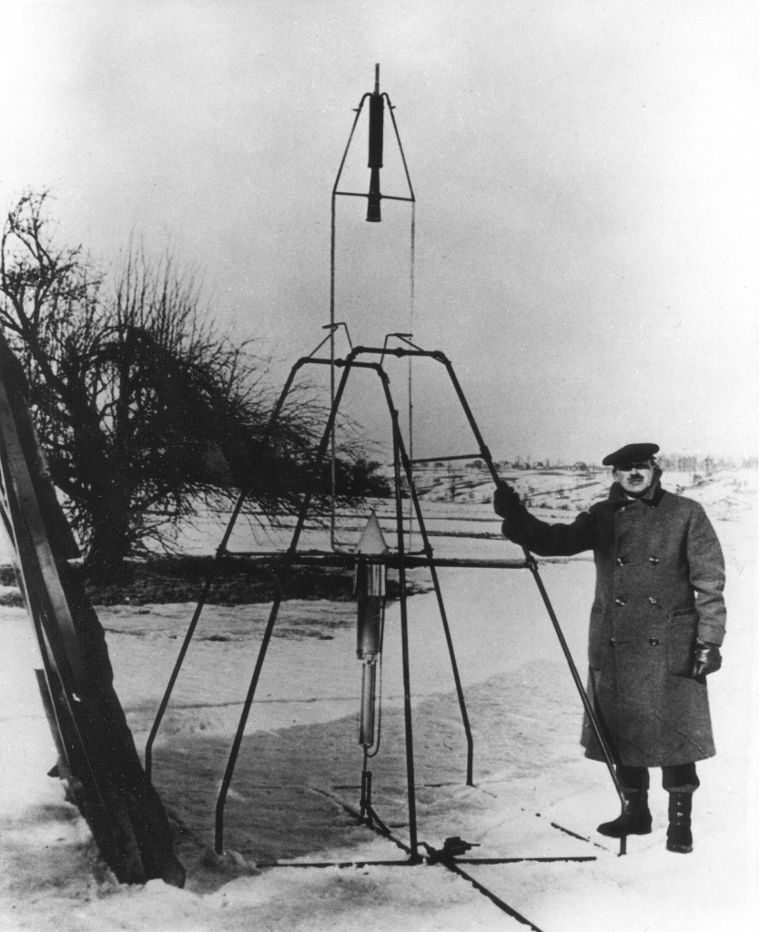 Robert H. Goddard and Liquid-Fueled Rocket
