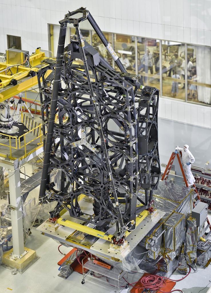 JWST Telescope Structure