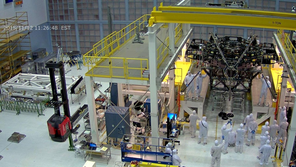 JWST in the Assembly Stand