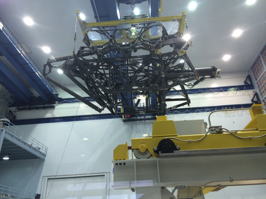 Telescope Structure Lift