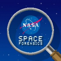 space forensics opening screen
