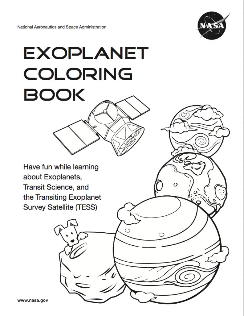 TESS coloring book