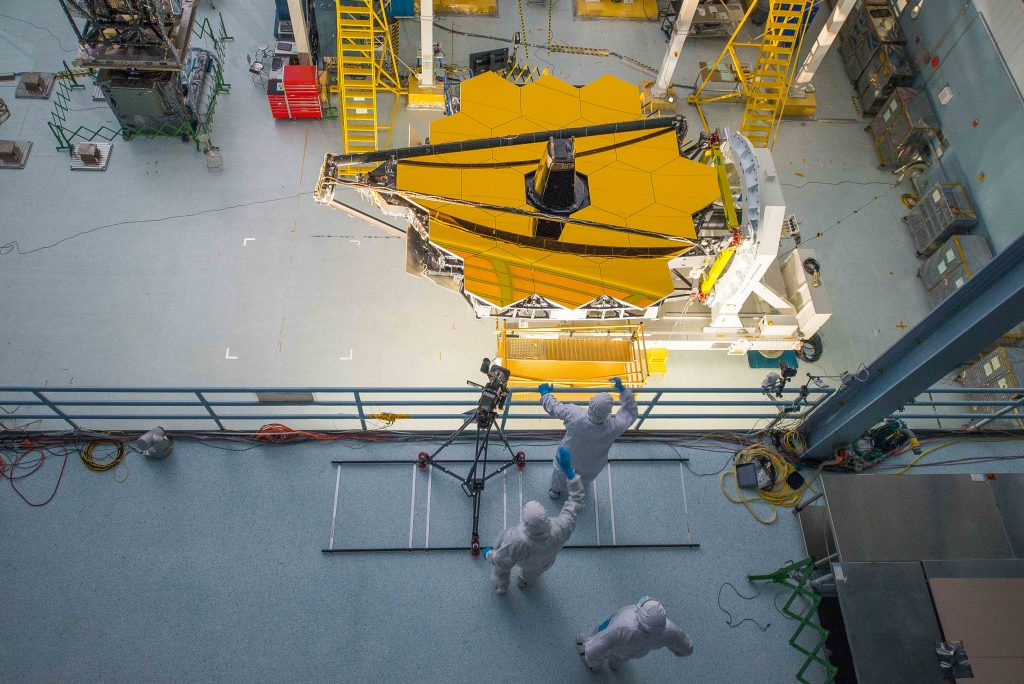 Lighting the James Webb Space Telescope
