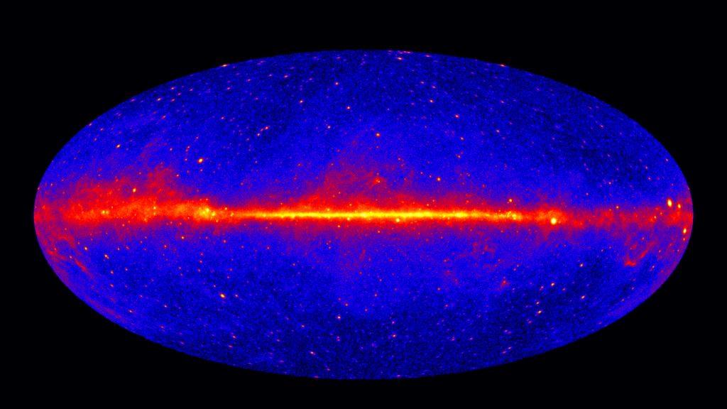 Fermi LAT 60-month image