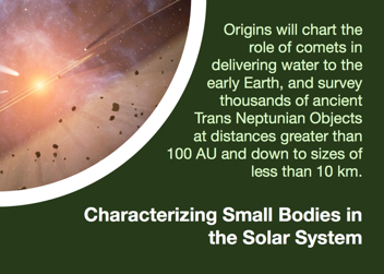 Characterizing Small Bodies in the Solar System