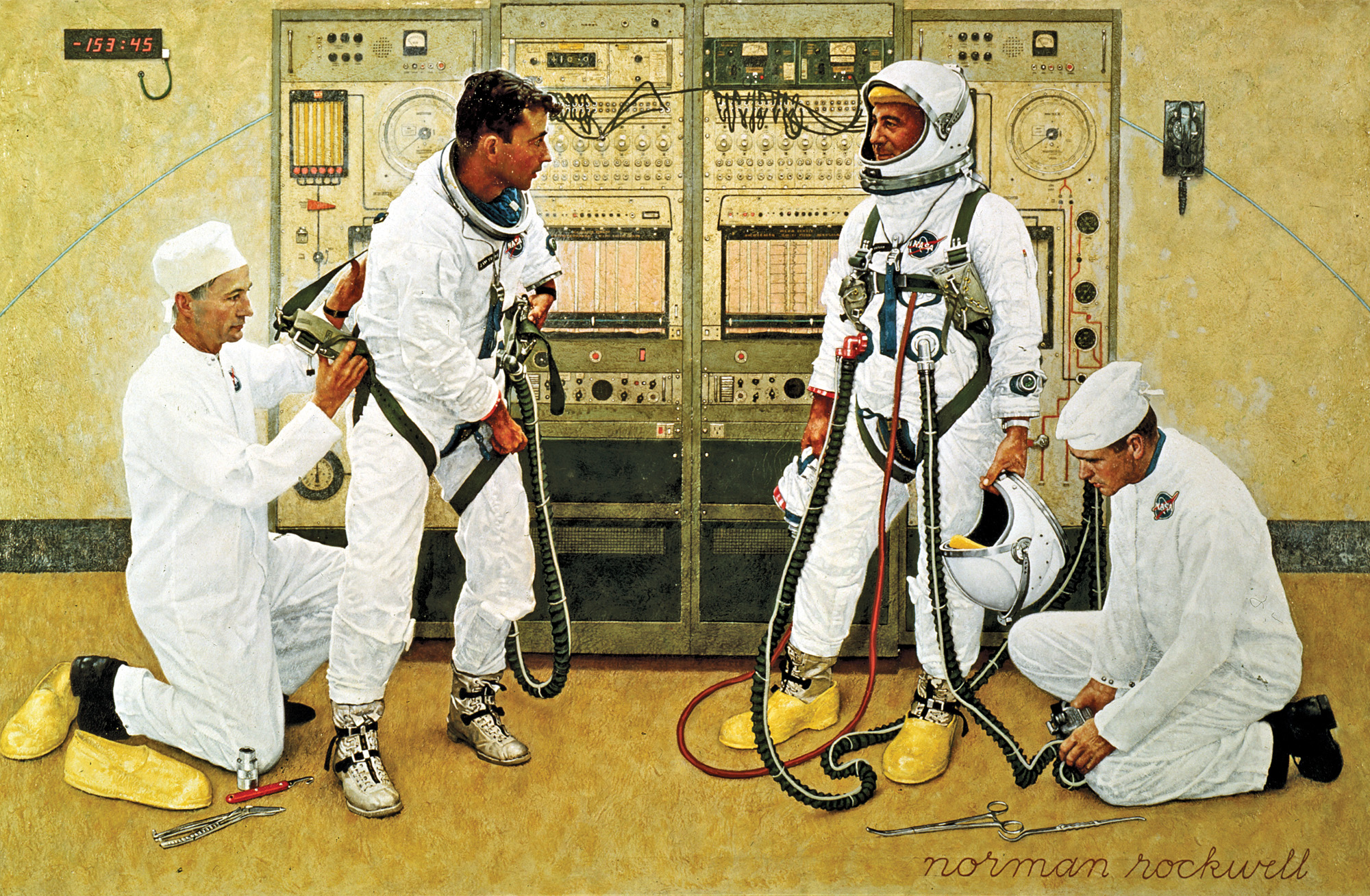 Norman Rockwell, Grissom and Young
